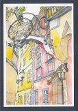 画像2: 絵葉書『ウィーンのレストランGriechenbeisl(グリーヒェンバイスル)』 (2)