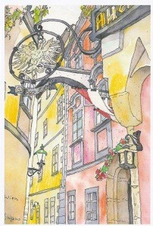 画像1: 絵葉書『ウィーンのレストランGriechenbeisl(グリーヒェンバイスル)』