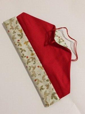 画像2: 箸袋 ライトグリーン花柄