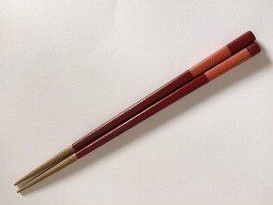 画像1: 『乾漆箸』赤