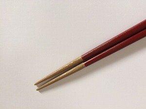 画像3: 『乾漆箸』赤