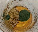 『蒔絵グラス』向日葵