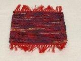 裂織コースター(赤系)